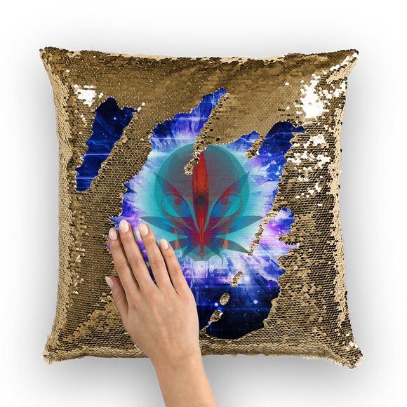 ALF Sequin Cushion Cover