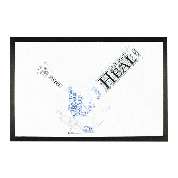 Heal The World Bong Sublimation Doormat