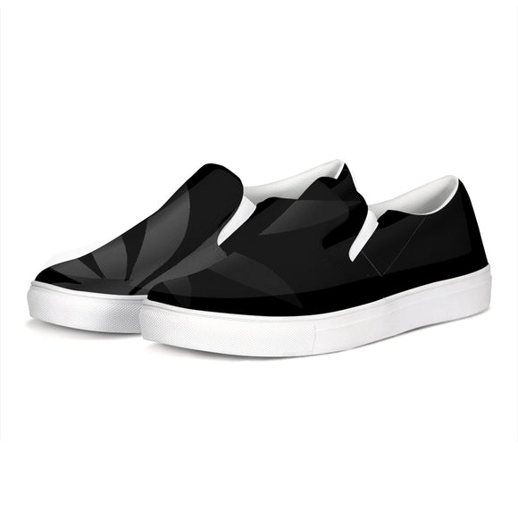 Muted Leaf Slip-On Canvas Shoe