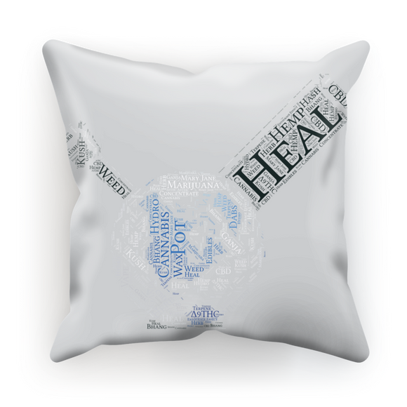 Heal The World Bong Sublimation Cushion Cover