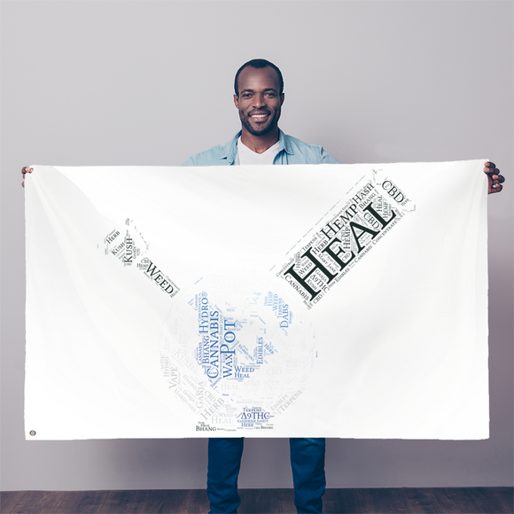 Heal The World Bong Sublimation Flag