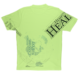 Heal The World Bong Sublimation Performance Adult T-Shirt