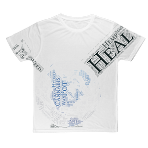 Heal The World Bong Classic Sublimation Adult T-Shirt