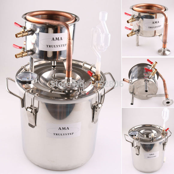 10L~100 Litres New DIY Stainless Essential Oil Brewing Kit