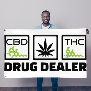 DRUG DEALER - Flag - CBD - THC