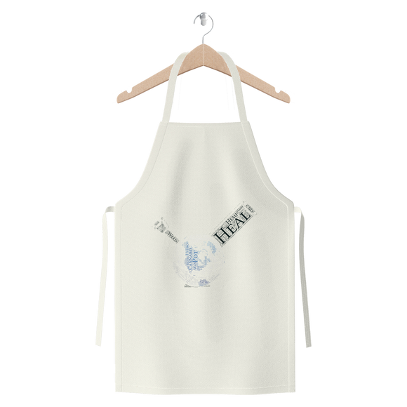 Heal The World Bong Premium Jersey Apron
