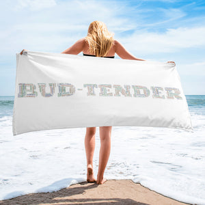 BUDTENDER Beach Towel / Wall Art - HTBADD