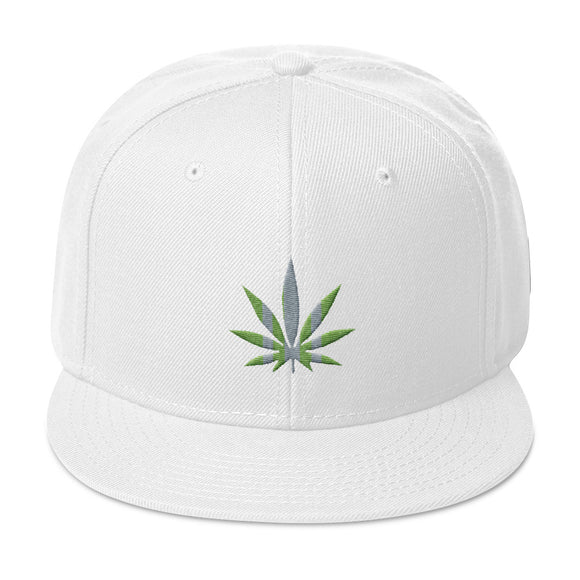 FUTURE LEAF - Flat Bill Snapback Hat
