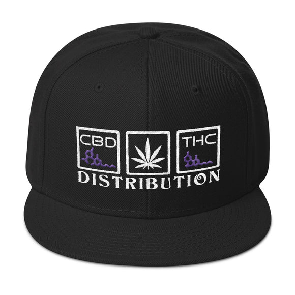 Distribution - Flat Bill Snapback Hat