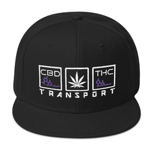 TRANSPORT - Flat Bill Snapback Hat