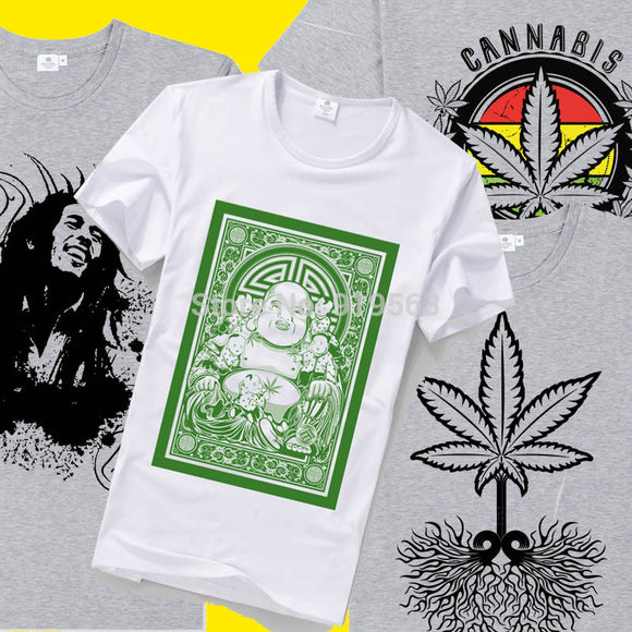 Buddha loves Cannabis and other various T-Shirts UNISEX
