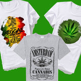 420 graphic T-Shirts - 22 patterns UNISEX