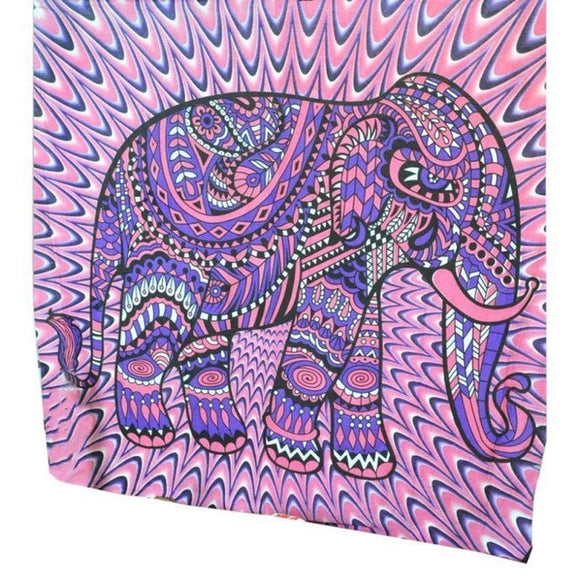 Psychedelic - Purple Elephant