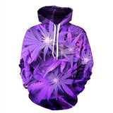 "3D Cannabis ""Purps"" Hoodie + Others"