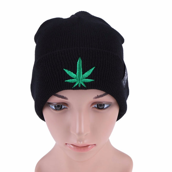 Cannabis Leaf Cartoon Beanie UNISEX