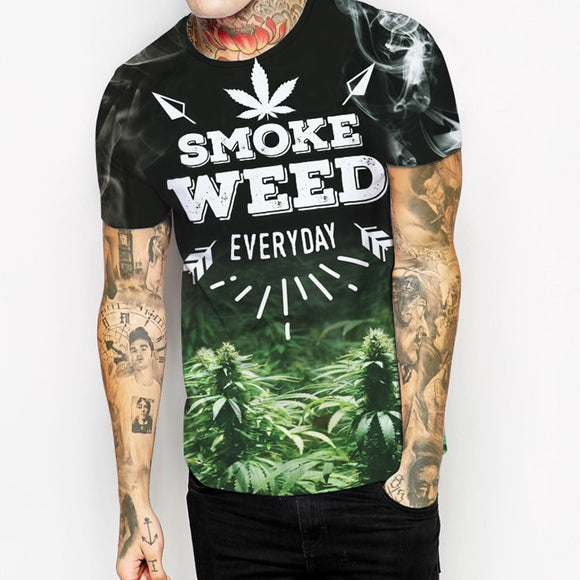 Smoke Weed Everyday Cannabis T Shirt