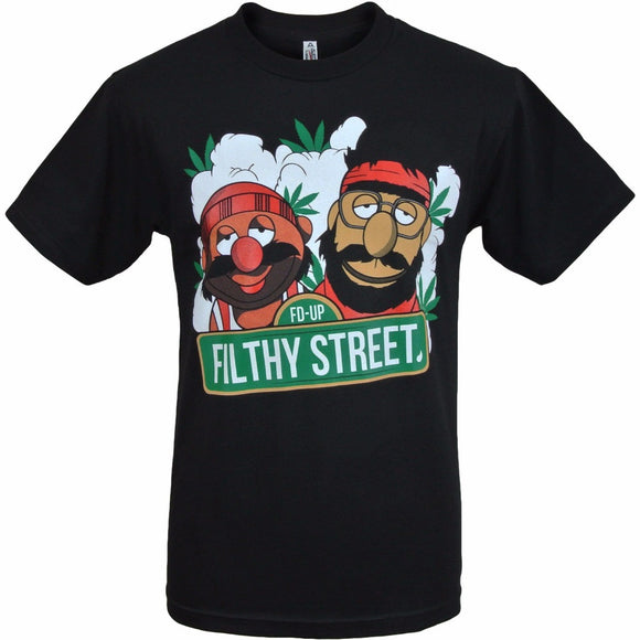 Cheech & Chong - Filthy Street Muppets T-Shirt