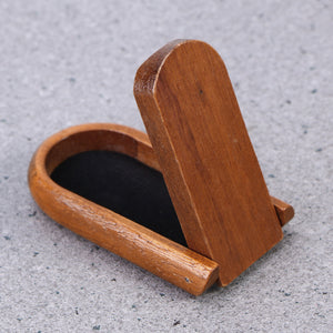 Wooden Pipe Stand Foldable Holder for a Pipe