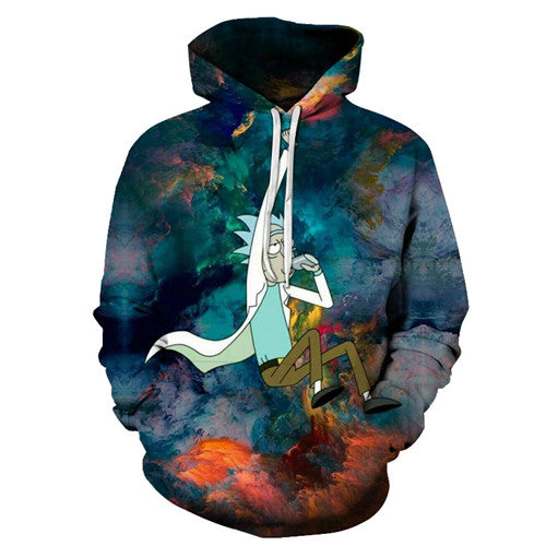 Rick and Morty Hoodie - Swingin Rick