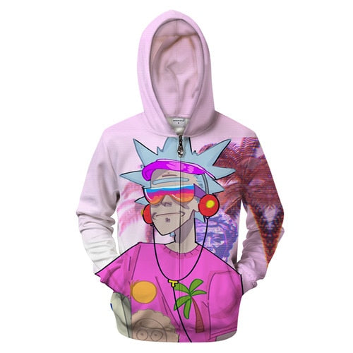 Rick and Morty Hoodie - Retired Rick Multiverse