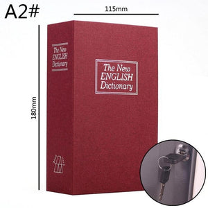 Dictionary Book Safe Stash Container