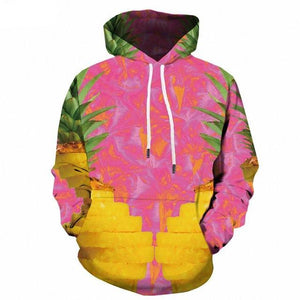 Psychedelic Hoodies - Pineapples