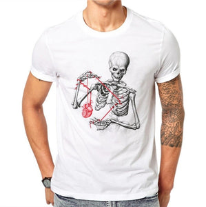 Cool Tees - Skeleton Heart On A String
