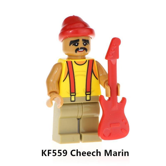 Cheech Marin - Lego Figure