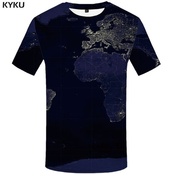 Cool Tees - Dark Map T-shirt