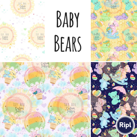 Baby Bears Collection *RETAIL*