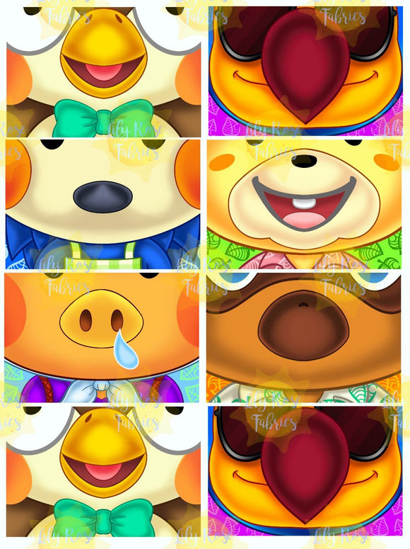 Animal Crossing Mask Panel Sheet *RETAIL*