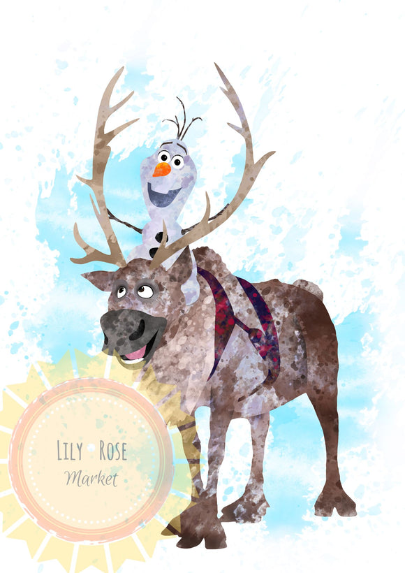 Olaf and Sven Topper PREORDER