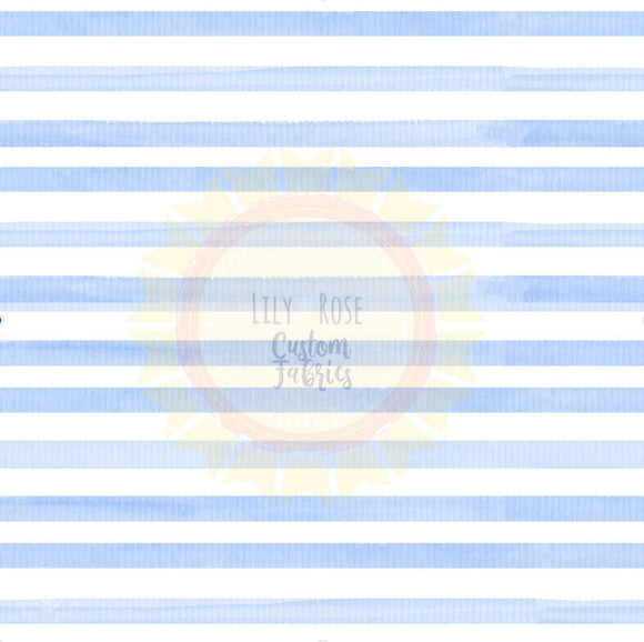 Light Blue Watercolor Stripe PREORDER