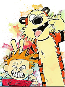 Calvin and Hobbes Topper PREORDER