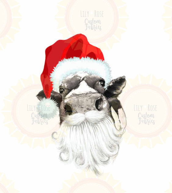 Christmas Cow Topper PREORDER