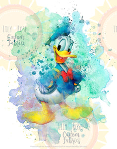 Donald Duck Blanket Topper *PREORDER*