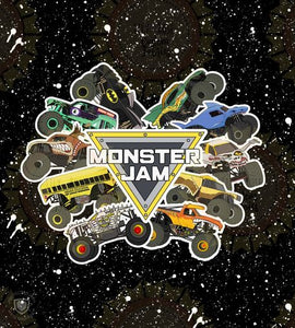 Monster Trucks Blanket Topper *RETAIL*