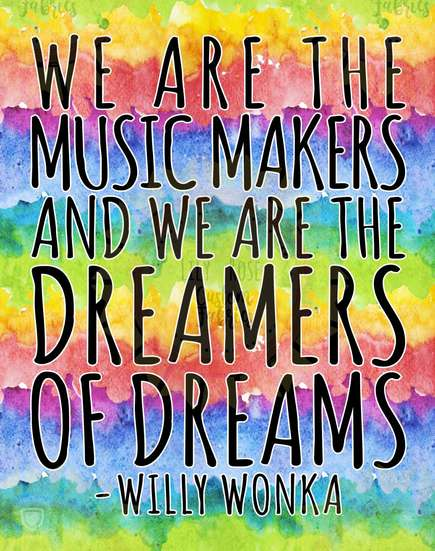 We are the Music Makers Blanket Topper