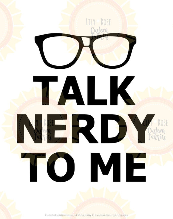 Talk Nerdy To Me Panel *RETAIL*