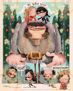 Princess Bride Blanket Topper *PREORDER*