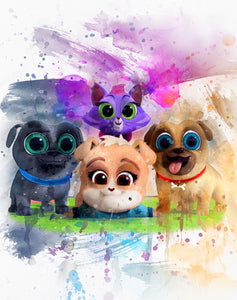 Puppy Dog Pals Blanket Topper *PREORDER*