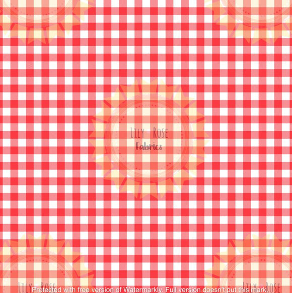 Red Gingham *PREORDER*