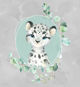 Eucalyptus Snow Leopard Panel *RETAIL*