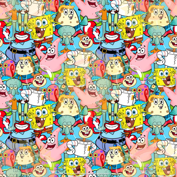 Krabby Friends Collage *PREORDER*