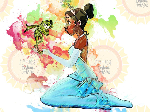 Princess and the Frog Topper PREORDER