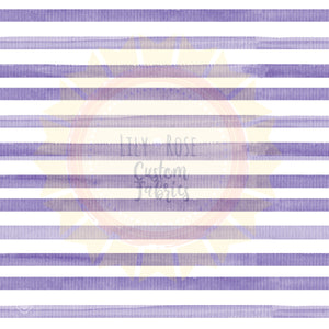Purple Watercolor Stripe *PREORDER*