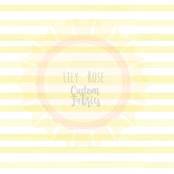 Yellow Watercolor Stripe *PREORDER*