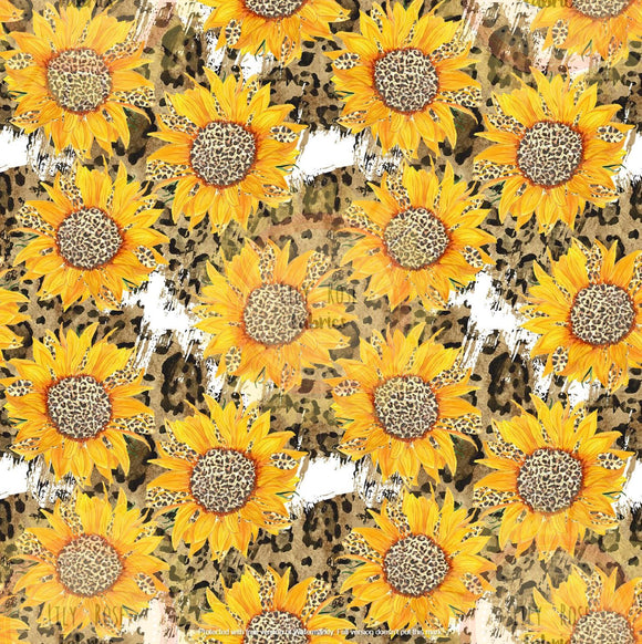 White Leopard Sunflowers *PREORDER*