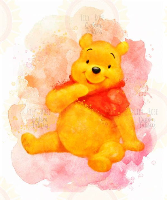Watercolor Pooh Topper PREORDER