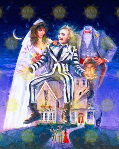 *NEW* Beetlejuice Blanket Topper *PREORDER*